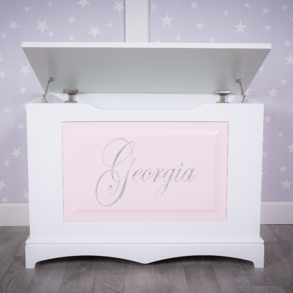 personalised girls toy box