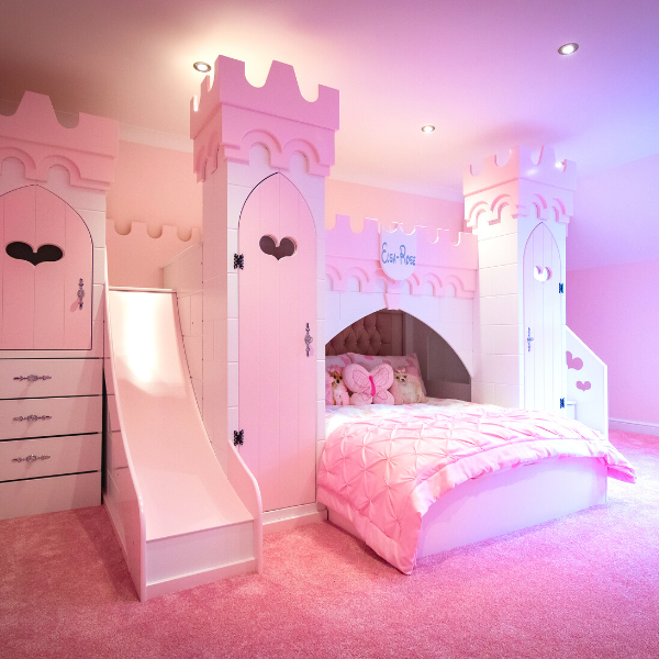 Princess castle bed product