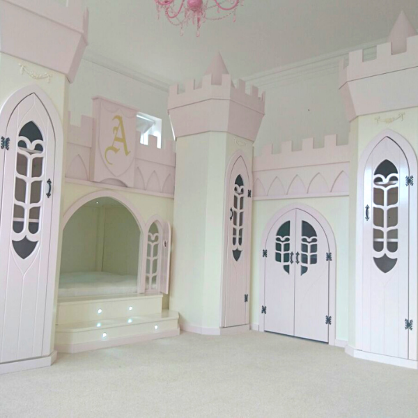 Amira Princess Castle Bed