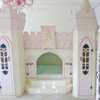 Girls castle bed