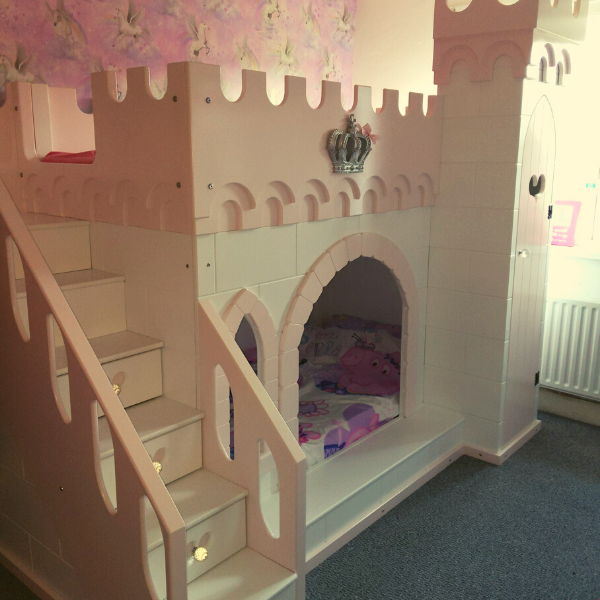 Tinkerbell Castle Bed