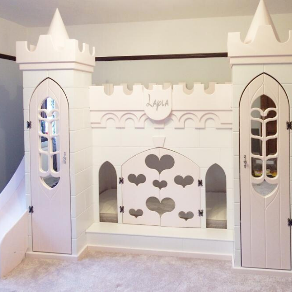 Princess Castle Bed