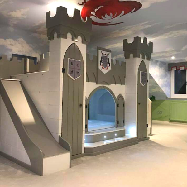 Knights Castle Bed