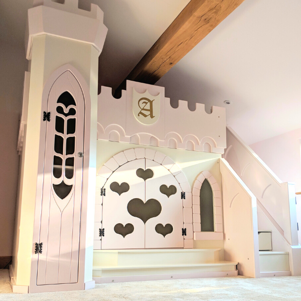 Small Amira Castle Bed
