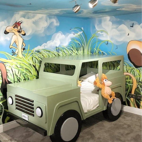 Safari Car Bed