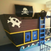 Kids Pirate bed