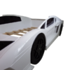 sports car kids bed