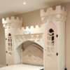 small castle bed