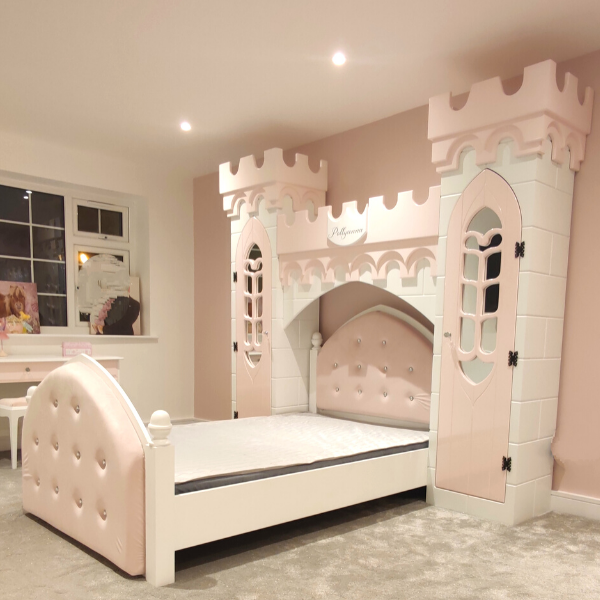 Unique castle bed