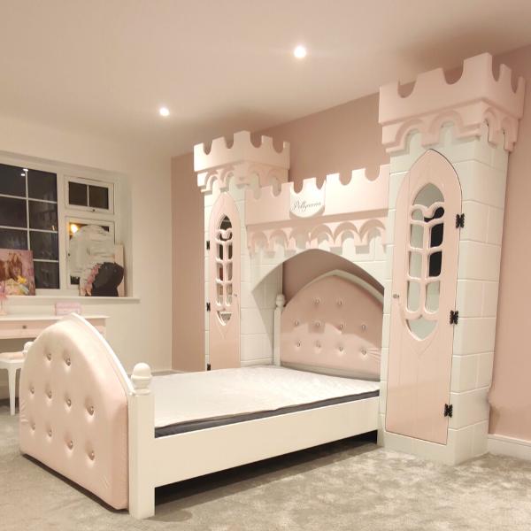 Unique castle bed
