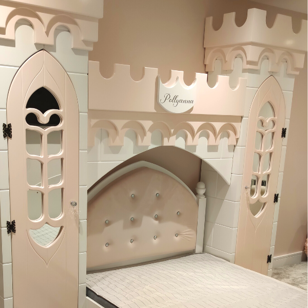 luxury girls bed